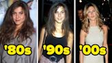 What 22 Celebrities Have Looked Like In Each Of The Past 5 Decades: '80s, '90s, '00s, '10s, And Today