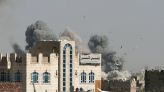 Saudi-led coalition carries out air raids on Houthi barracks in Sanaa area - residents