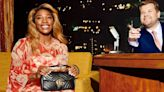 Serena Williams and Awkwafina Share the 'Late Late' Stage With Gucci