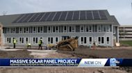 Nonprofit's new home gets solar panel donation