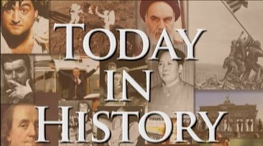 Today in History for March 14th