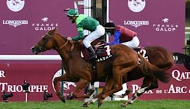 Sottsass wins Arc as Enable is unable to make history