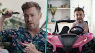 Chris Hemsworth Trolls Himself In Funny Fitness App Ad