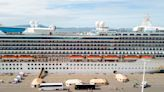 Grand Princess Cruise Ship Departs Port of Los Angeles For First Time Since March 2020