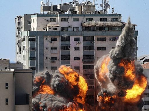 轟炸加薩美聯社辦公室挨批 以色列反咬:大樓被偷用於干擾「鐵穹」