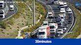 Directo   Tráfico en Madrid: varios accidentes y complicaciones en las entradas a la capital