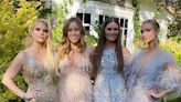 Jessica Simpson and Ashlee Simpson Ross Go Full Glam as Bridesmaids in Friend's Wedding