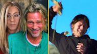 Jennifer Aniston & Brad Pitt's Steamy Table Read
