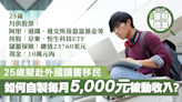 【理財個案】25歲計劃2年後赴外國讀書移民 如何自製每月5,000元被動收入? - 香港經濟日報 - 理財 - 博客