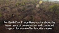 Prince Harry's Earth Day Message Included a Touching Tribute to Prince Philip