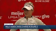 Nelly Korda enjoys three stroke lead after three rounds