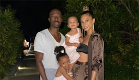 Alesha Dixon shares incredibly rare family photo as she celebrates husband's 40th birthday