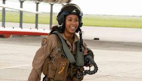 Madeline Swegle becomes U.S. Navy's 1st Black female fighter pilot