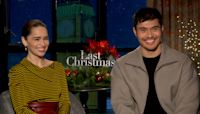 'Last Christmas' Stars Emilia Clarke and Henry Golding on Second Chances