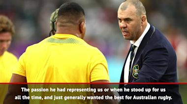 He wanted the best for Australia- Hooper hails Cheika