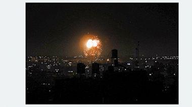 以軍48小時內兩度空襲加沙