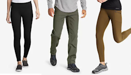 Save now on Eddie Bauer jeans, leggings and pants for fall