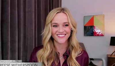 Reese Witherspoon Makes Fun of Her 'Soccer Mom' Hairstyle from 20 Years Ago on The View