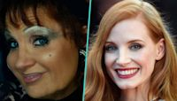 Jessica Chastain's Long Hours In Tammy Faye Bakker Prosthetics Made Her Feel Like She Was 'About To Go...