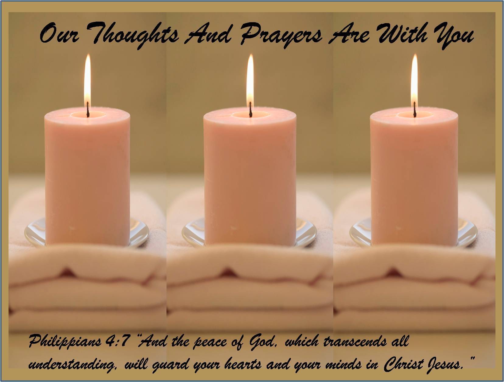 Prayer For Healing And Strength Quotes Our thoughts and prayers are
