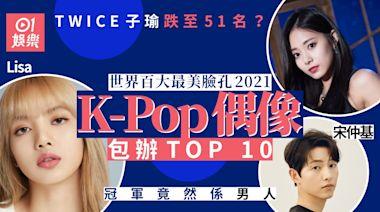 「世界百大最美臉孔2021」出爐 TWICE子瑜意外只排51位?