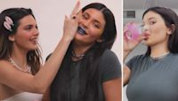 Kendall and Kylie Jenner Get Drunk and Do Their Makeup