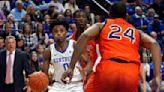 No. 6 Kentucky without point guard Ashton Hagans at Florida