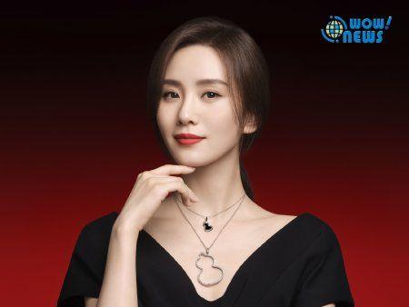 Qeelin品牌代言人劉詩詩佩戴Qeelin Wulu珠寶展現典雅氛圍