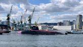 白鯨上陣,日本海上自衛隊第二艘大鯨級潛艦下水
