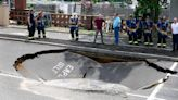 Sinkholes in NJ: What caused the collapse at a strip mall in Wall?
