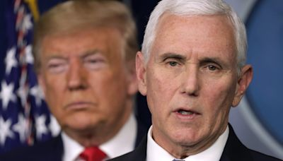 Vice President Mike Pence pleaded with the acting defense secretary to 'clear the Capitol' as pro-Trump rioters overran the building, report says