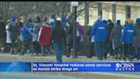 St. Vincent Hospital Reduces Services In Response To Long Nurses Strike