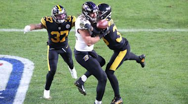 Down nine starters, Ravens come just a few plays short against unbeaten Steelers