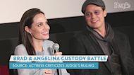Angelina Jolie Criticizes Judge's Tentative Ruling as Brad Pitt Is Awarded More Custody: Source