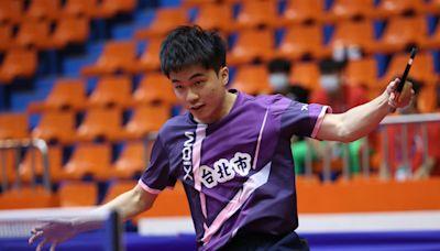 林昀儒爭團賽金牌又失利:輸贏很正常 男單4強賽可能再對莊智淵