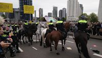 Police in Rotterdam Clash with Housing Protesters