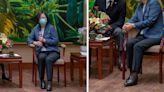 蔡英文脫鞋接見日本官員?「兩步驟查證」還總統清白