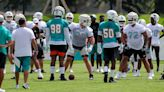 Dolphins training camp Day 1: Stock up, stock down and other observations