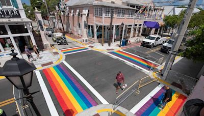 Visitors will see a big change on Key West's Duval Street during the holiday weekend