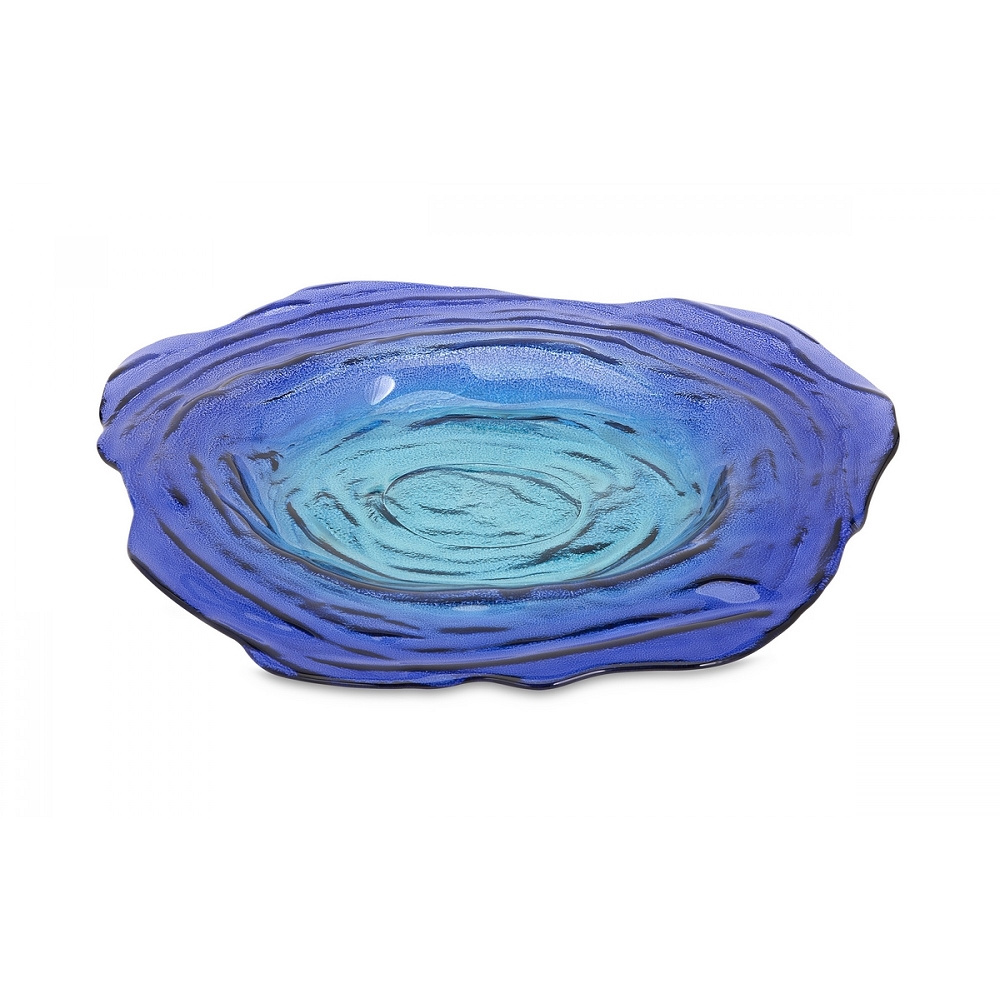 ... Decor & Accents > Decorative Accents > Palencia Recycled Glass Charger