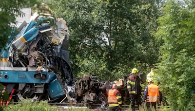 Three dead after trains collide in Czech Republic
