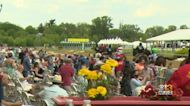 Preakness Fans Happy To Watch Live Horse Racing Again At Pimlico
