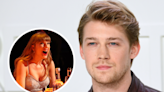 Joe Alwyn posts shirtless BTS photo—and the thirst is real