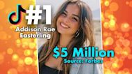 TikTok's Addison Rae Makes $5 Million a Year: Forbes