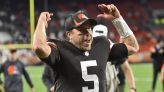Backup plan: Browns can trust Keenum with Mayfield injured