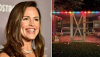Jennifer Garner Unveils Adorably Decorated Holiday Chicken Coop