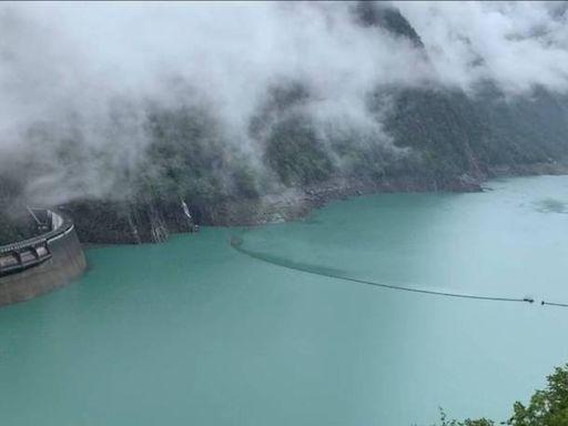 德基水庫上游下雨了 再進帳269萬噸