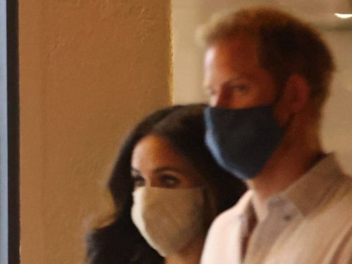 Prince Harry and Meghan Markle Have Double Date With Pregnant Katharine McPhee and David Foster