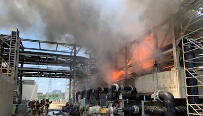 南科自建再生水廠大火 管理局:未波及台積電廠房