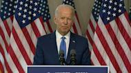 Biden urges halt of Trump's US Supreme Court push